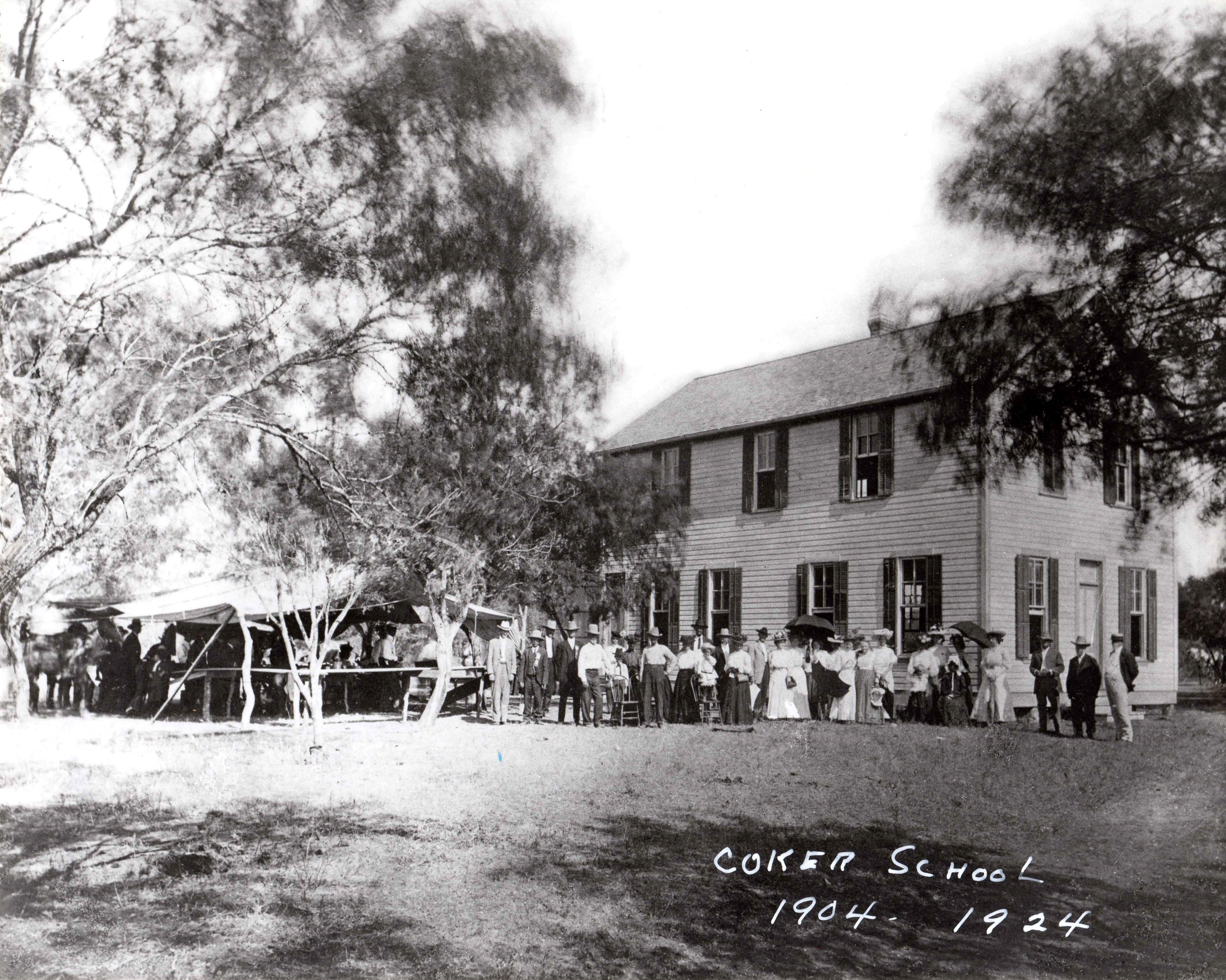 Coker School - second building
