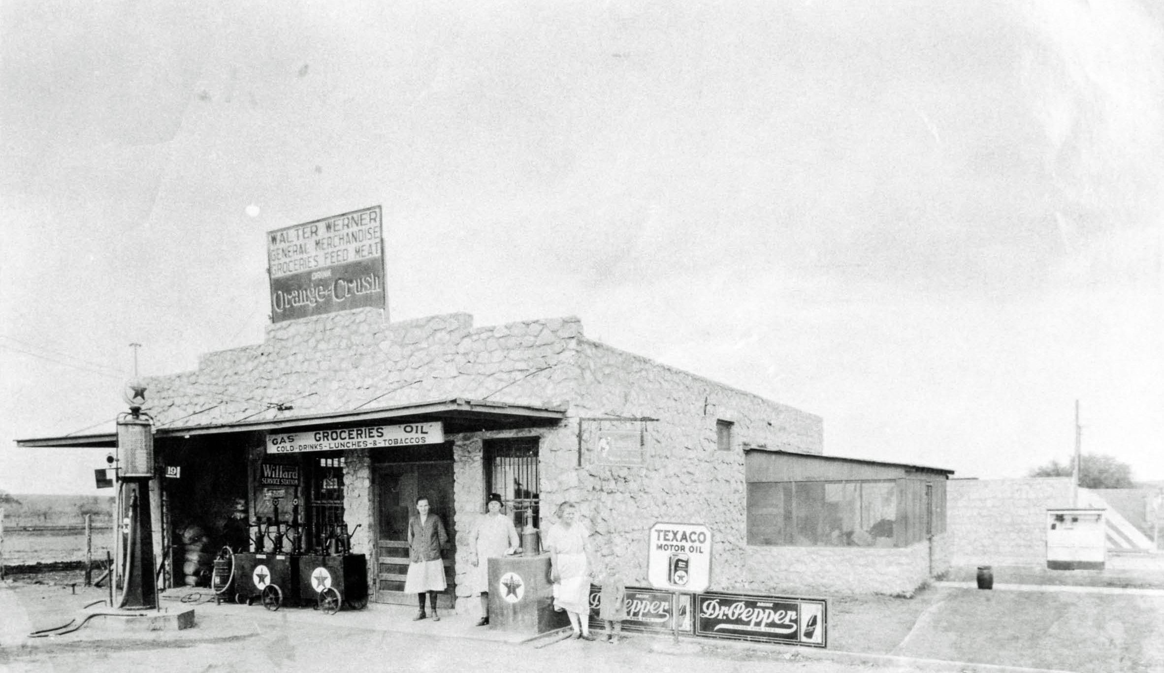 Werner Store - circa 1930 (became Gerfers 